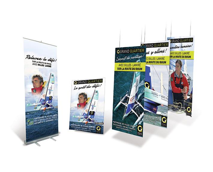 Supports  imprimés - agence graphique à rennes
