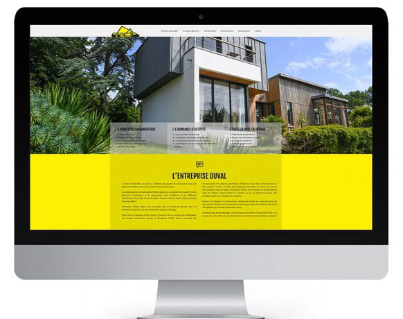 site internet Duval
