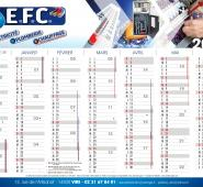 Calendrier A4 EFC
