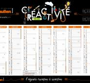 Calendrier A4 Schuller-Graphic