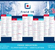 Calendrier panoramique Froid 14