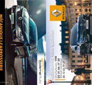 Calendrier de poche Renault