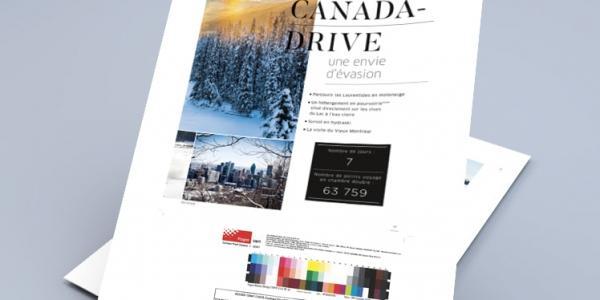 Brochure communication pour Denis Matérieux-Agence de communication et publicité à Rennes