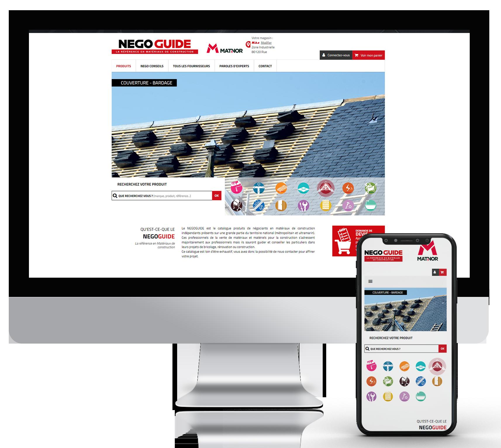 Agence digitale : création multi-site negoguide