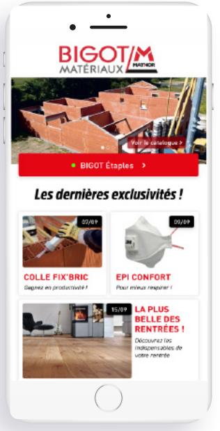 Application Happy-Fid - Bigot / M - agence digitale à Rennes