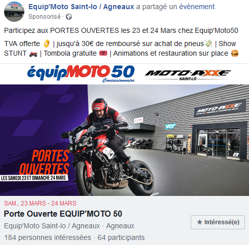 post sponsorisé - publicité -réseaux sociaux - social media - ads - rennes